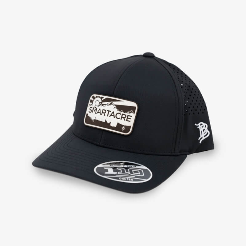 Black Performance Dry Fit Hat